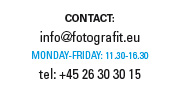 FOTOGRAFIT Contact