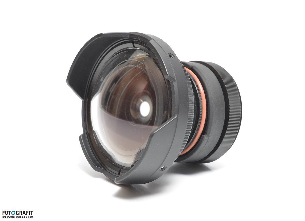 Inon extreme fisheye lens kit wetlenses inon fotografit for Fish eye lens